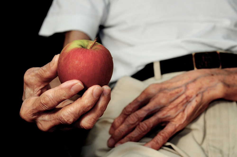 Apple in Old Hand